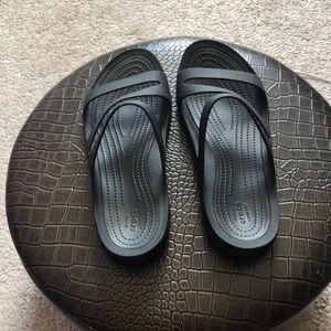Croc Sandals. EUC.
